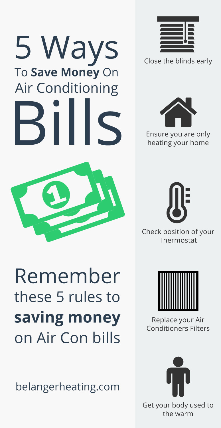 5 Ways To Save Money On Air Conditioning Bills